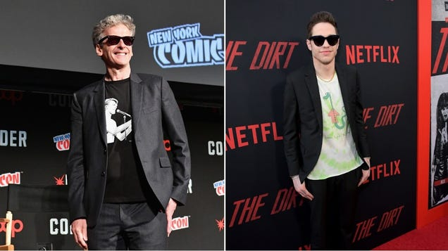 Peters Capaldi and Davidson join James Gunn's Suicide Squad