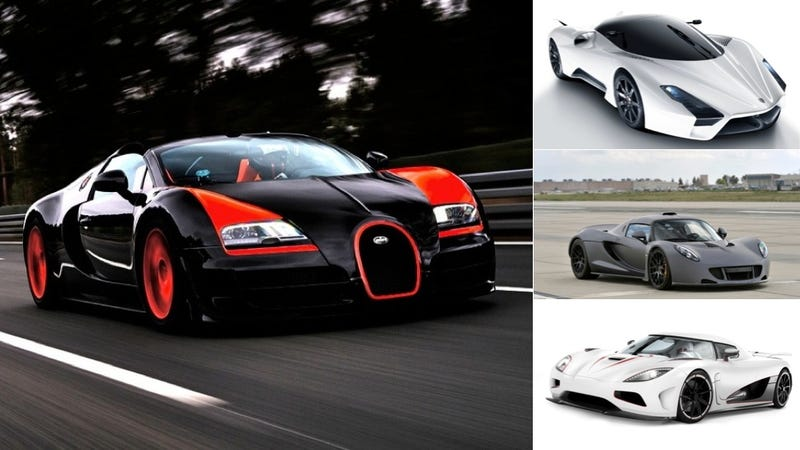 Just What Is The Fastest Car In The World? Over The Last Few Days, No One  Seems Especially Sure Anymore. The Bugatti Veyron Super Sport Had Held That  Record ...