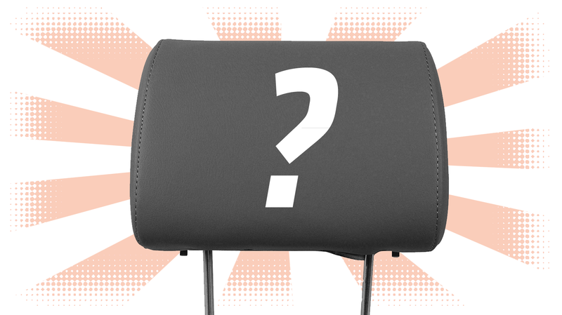 Illustration for article titled Quick Question: Have You Ever Used The Headrest While Driving?