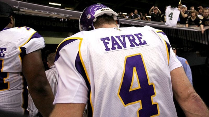 Illustration for article titled Vikings Stand Behind Brett Favre's Decision To Jerk Team Around For Months