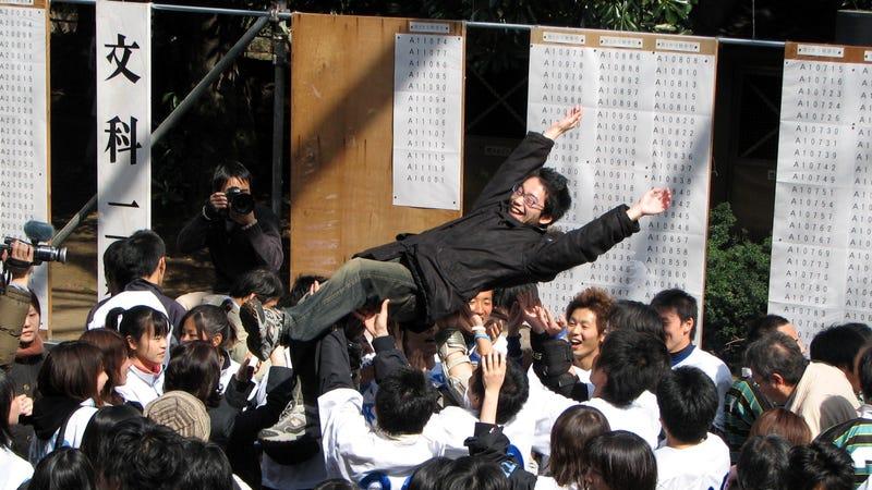 Illustration for article titled Un robot aprueba el examen de acceso a la universidad en Japón