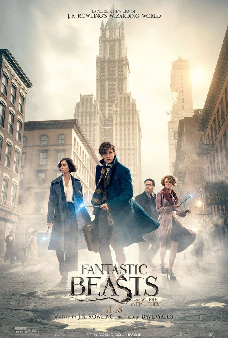 Illustration for article titled Fantastic Beasts and Where to Find Them 2016 Movie Counter