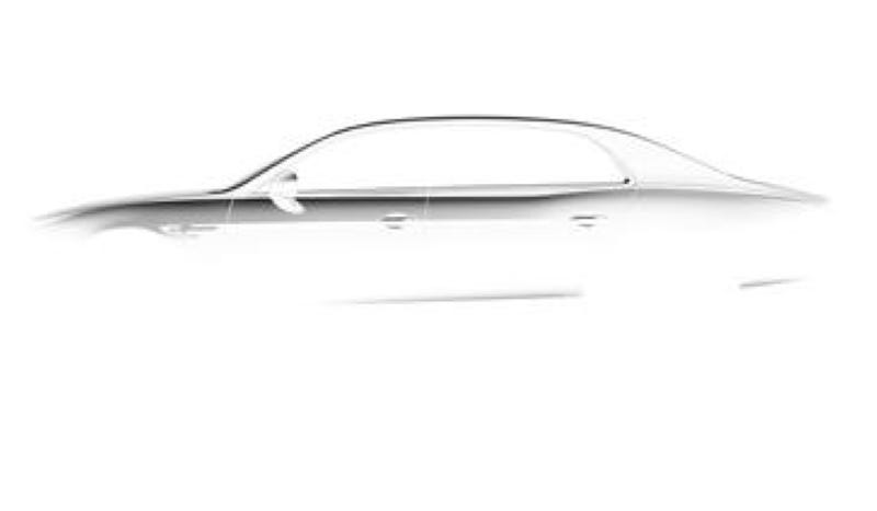 Illustration for article titled This Is The Silhouette Of The New Bentley Flying Spur