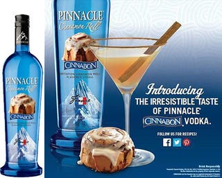 Illustration for article titled cinnabon vodka