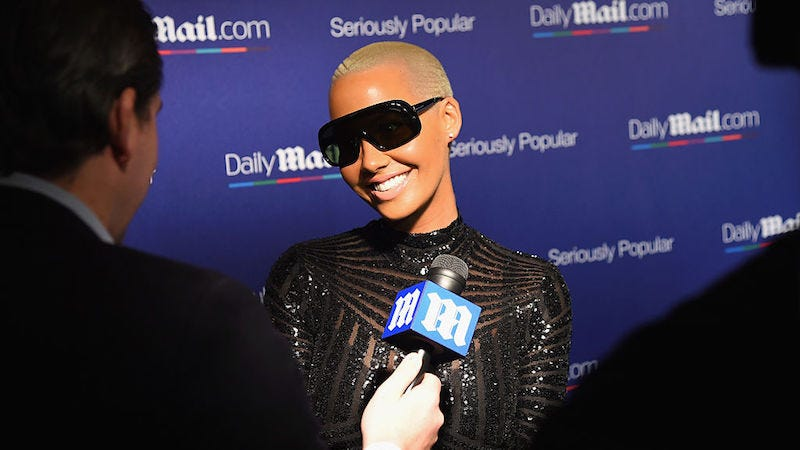 Illustration for article titled Amber Rose's Talk Show Promo Is Here