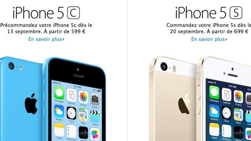 Apple iPhone 5S 64GB prijs -simlockvrij- los kopen?