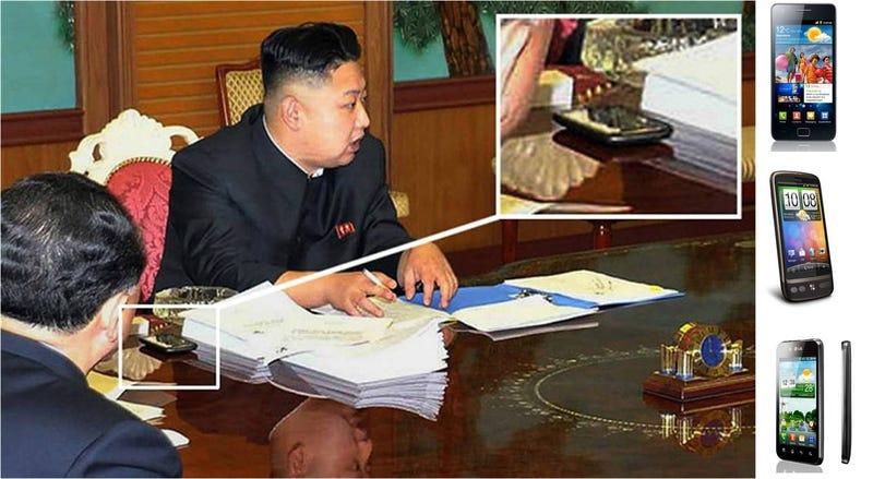 Illustration for article titled Kim Jong-Un, el cliente que ningún fabricante de smartphones quiere tener