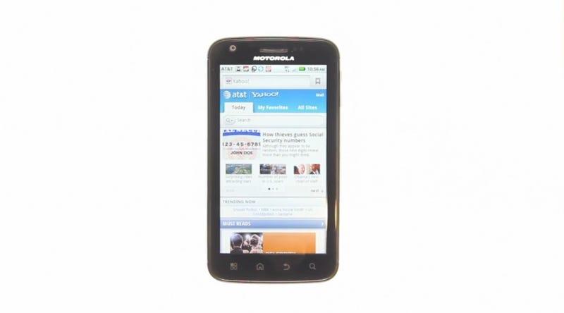Illustration for article titled Using the Moto Atrix Notebook-Slash-Smartphone