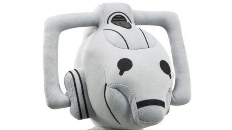 Illustration for article titled It's the most depressingly cute Cyberman I've ever seen