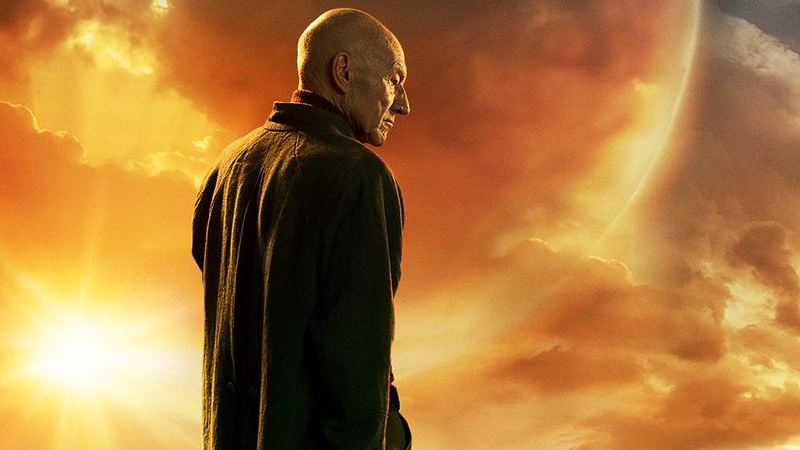 Jean-Luc Picard is back, and this time he's got a cape on.