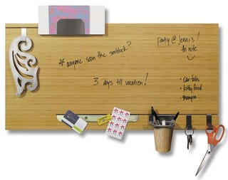 Illustration for article titled Dry Erase Bamboo Panel Will Kill Those Reminder Apps DEAD (Maybe)