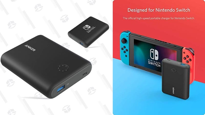 Anker 13,400mAh Nintendo Switch USB-C Battery | $50 | Amazon