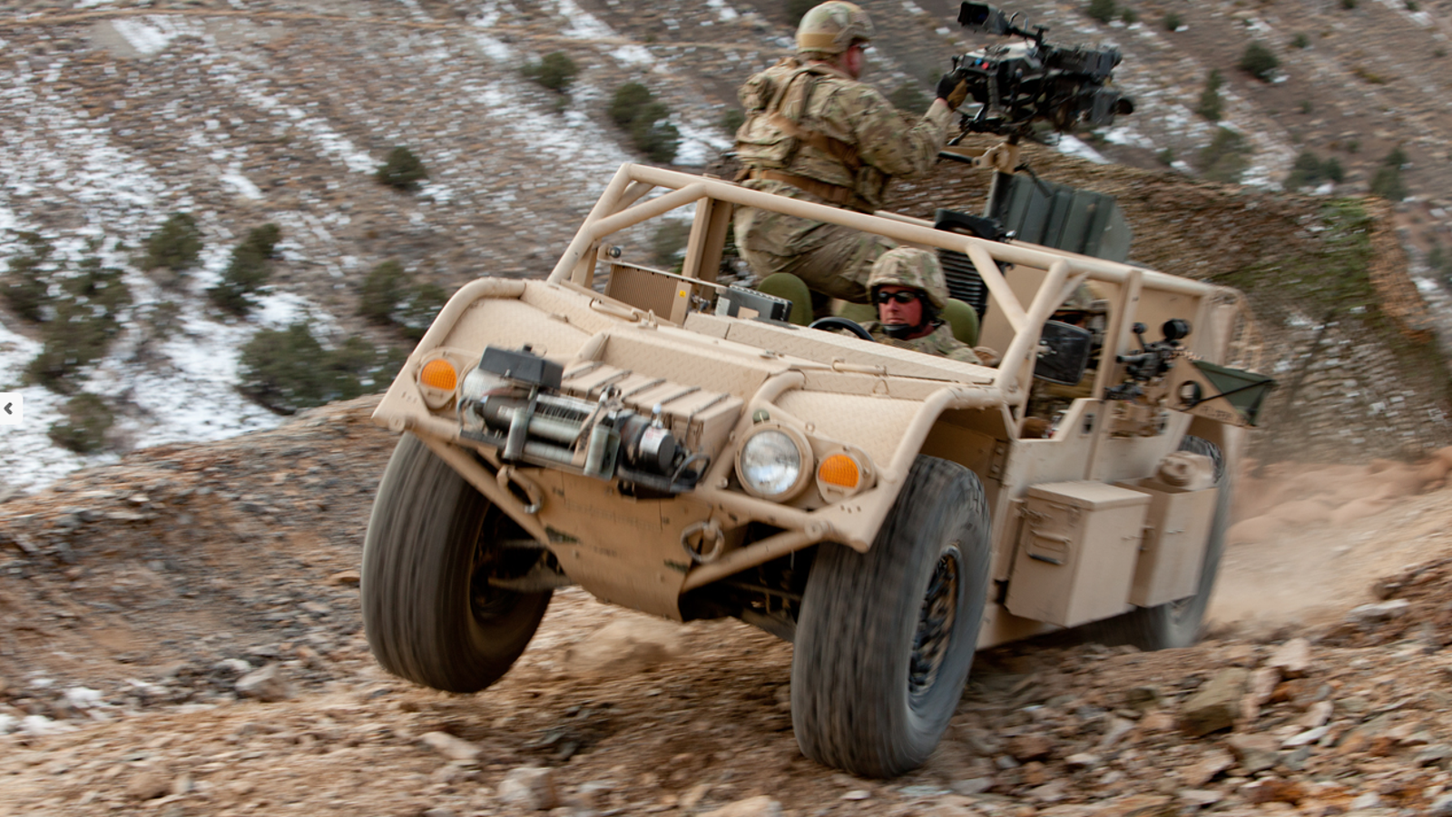 The U S  Special Forces' New Kick Ass Battle Wagon Fits In