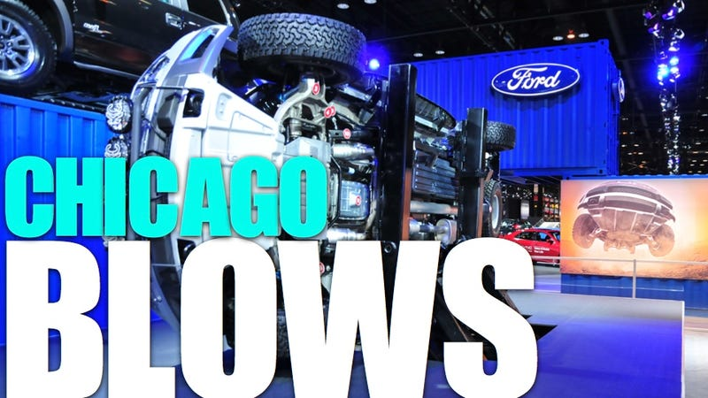 Illustration for article titled The 2011 Chicago Auto Show: Blow-By-Blow
