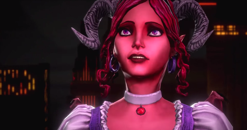 Illustration for article titled Hell Is Like a Disney Musical In Saints Row IV's Expansion