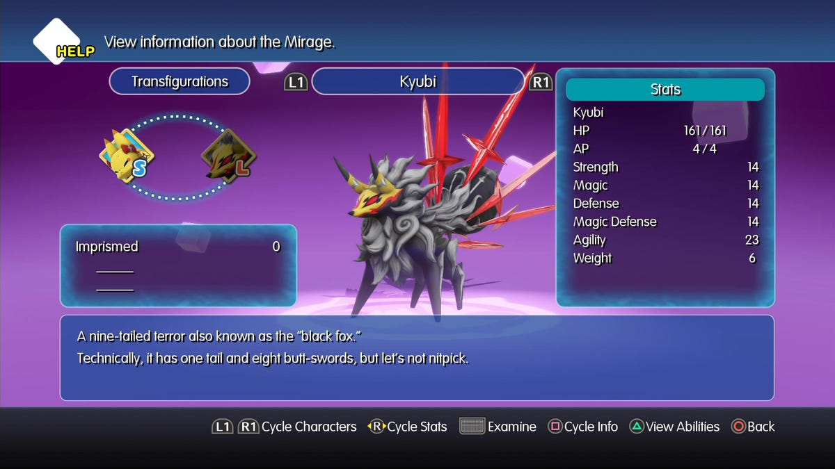 World Of Final Fantasy's Ridiculous Mirage Manual Is Worth