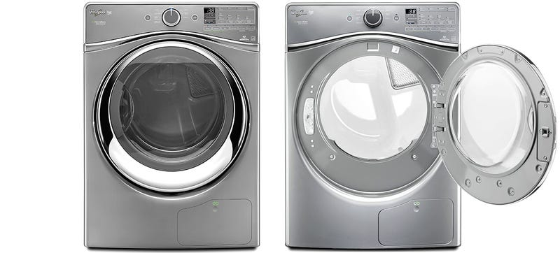 Whirlpool\'s New Dryer Recycles Hot Humid Air So It Doesn\'t Need a Vent