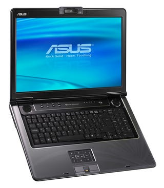 """Illustration for article titled ASUS M70 One Terabyte Laptop Screams """"FIRST!!!"""""""
