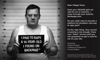 Illustration for article titled Judge Dismisses Sex Trafficking Complicity Suit Against Village Voice Media
