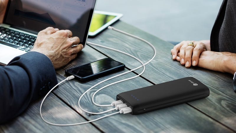 iClever 21000mAh USB-C Power Delivery Battery Pack | $45 | Amazon | Promo code PDCHARGERiClever 30W USB-C Power Delivery Wall Charger | $13 | Amazon | Promo code 30WCHAR2