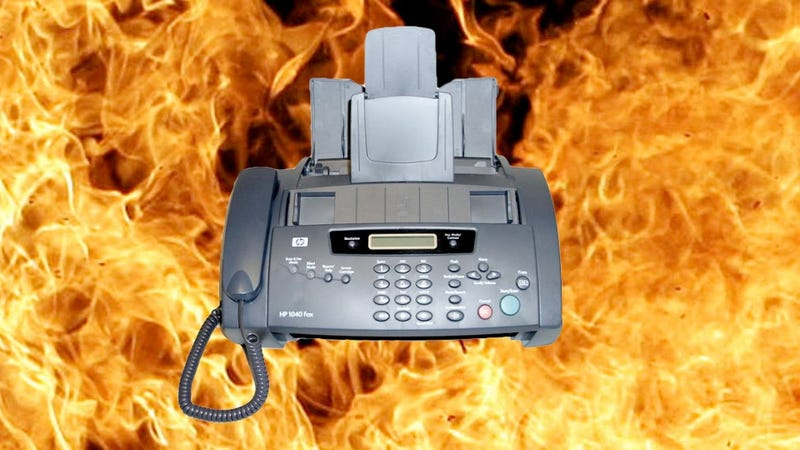 Illustration for article titled The Only Action Your HP Fax Machine Might Get This Year Is a Deadly Fire