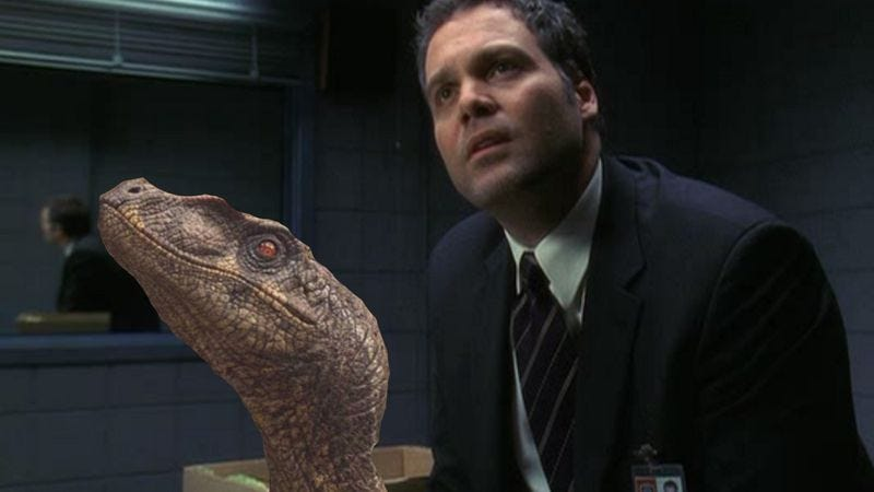 Illustration for article titled Vincent D'Onofrio to play the non-dinosaur villain in Jurassic World