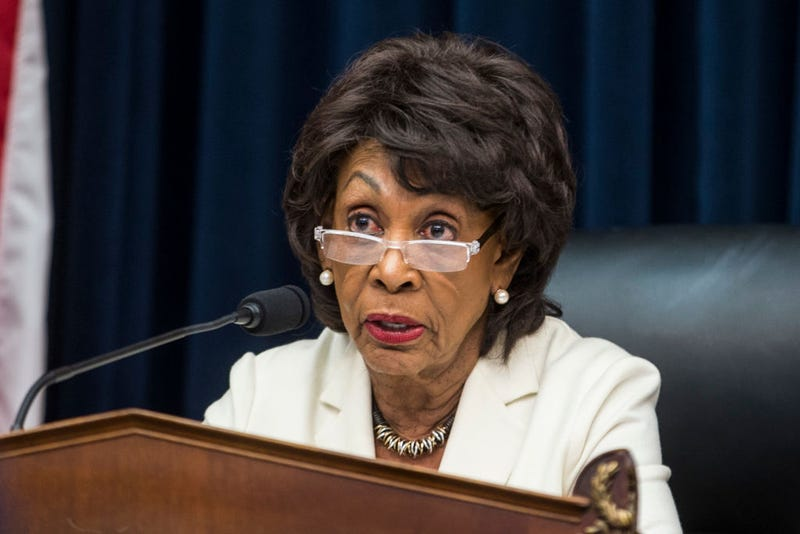 House Financial Services Committee Chairwoman Maxine Waters (D-Calif.) speaks during a House Financial Services Committee Hearing on Capitol Hill on April 9, 2019, in Washington, DC. U.S. Secretary of Treasury Steve Mnuchin is testifying on the state of the international financial system.
