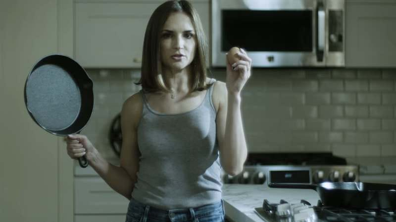 "Illustration for article titled Rachael Leigh Cook recreates ""This Is Your Brain On Drugs"" as Drug War critique"