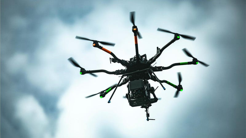 Illustration for article titled Racing's Most Advanced Camera-Equipped Drone Is Coming to Talladega