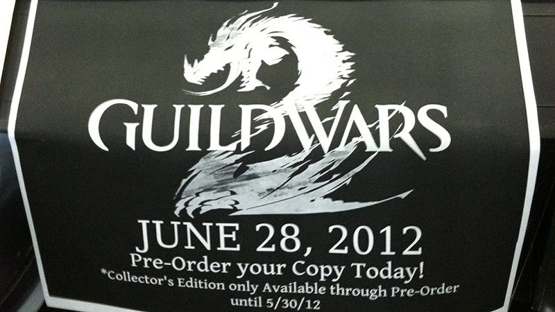 Illustration for article titled Guild Wars 2 Retail Ad Shows June 28 Release Date [UPDATE]
