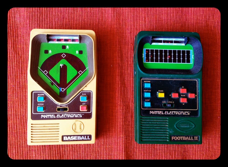 Illustration for article titled From The Old School: Mattel Electronics Hand-Held Video Games
