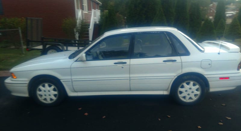 For 4 800 Would You Be A Goofus Buying This 1991 Mitsubishi Galant