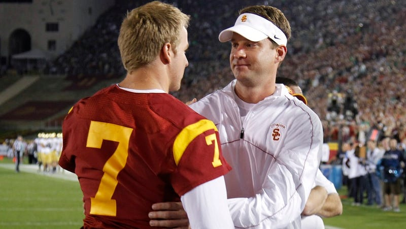 Illustration for article titled Reports: USC Players Had A Locker-Room Brawl Over Matt Barkley's Honor