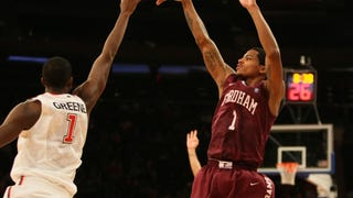 Fordham Picks Up Rare Conference Win Against George Mason