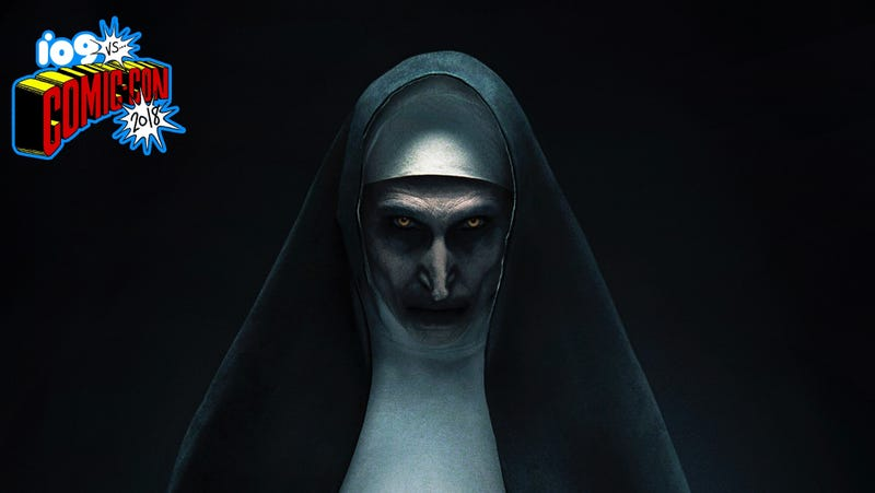 Bonnie Aarons stars as you-know-who in The Nun.
