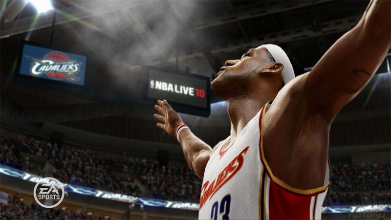 Illustration for article titled First Look At NBA Live 10