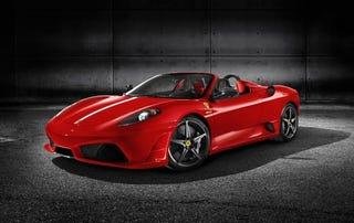 Illustration for article titled Ferrari Scuderia Spider 16M Unveiled Live At Mugello With Stickers, 16 GB Ferrari iPod Touch