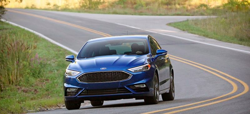 The 325 Horsepower 2017 Ford Fusion Sport Is Not The Audi
