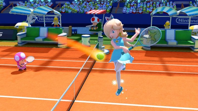 Illustration for article titled Mario Tennis: Ultra Smash should've just stuck to tennis