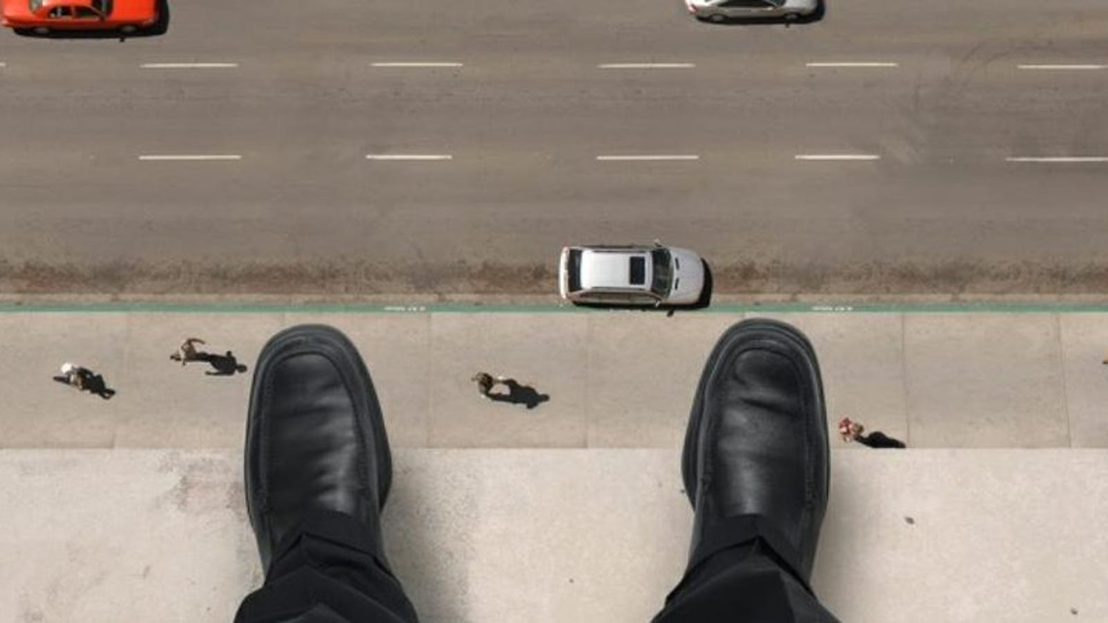 El salto imposible de Ronald Opus, el suicida que se lanzó por una ventana y aterrizó con una bala en la cabeza