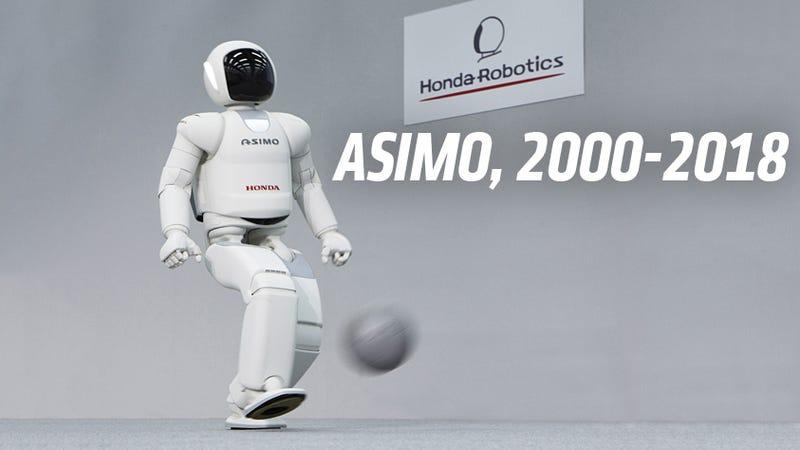Illustration for article titled Dead: Honda Asimo