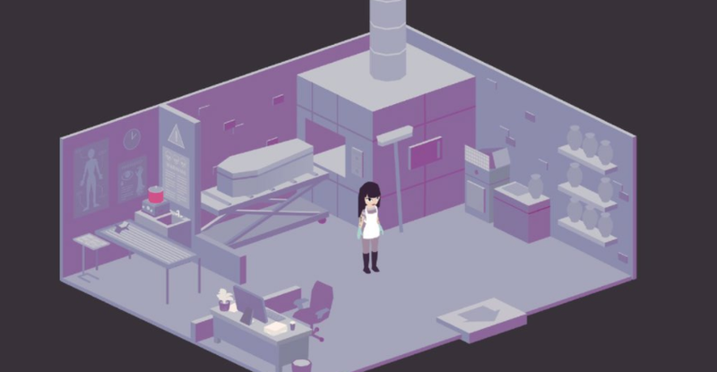 Illustration for article titled You Are A Mortician In This Upcoming Game About Death