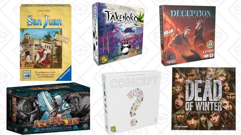 Illustration for article titled Today's best deals: Board game blowout, Superbad, and more