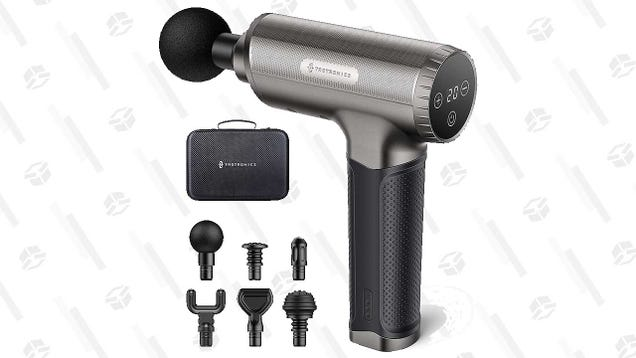 Relax Your Muscles With a TaoTronics Massage Gun, Down to $72