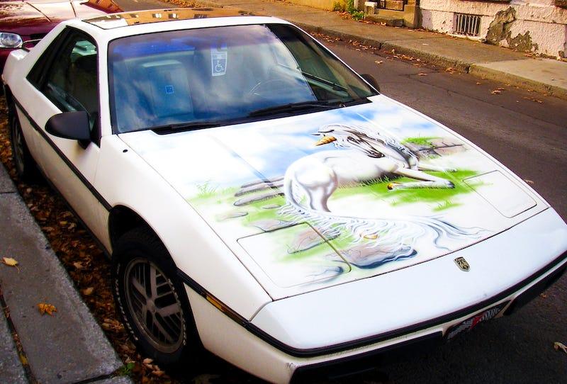 Illustration for article titled Unicorn Fiero Makes Carpocalypse All Better