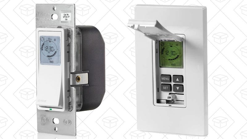 Leviton Programmable Light Switch, $22