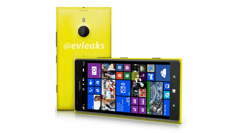 Illustration for article titled Here's the Gigantic Nokia Windows Phone We Might Never See