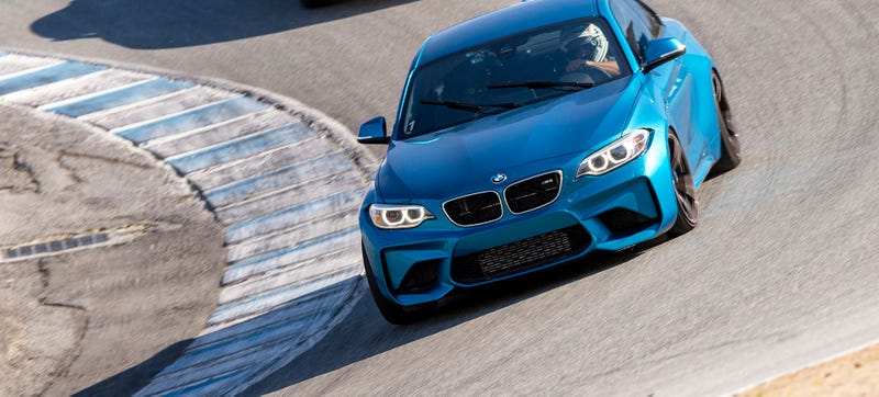 Illustration for article titled The BMW M2 Is Only 25 Pounds Lighter Than The BMW M4