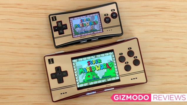I Desperately Wanted to Love This Game Boy Micro Clone