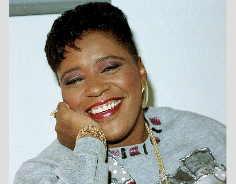\Marsha Warfield poses in New York City on May 14, 1990.
